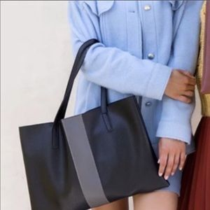 Vince Camuto vegan leather tote, new without tags